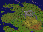 Pixel World Map Sample by DaftPanzerUK