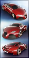 Concept Car V2 - Panel by 3DnuTTa