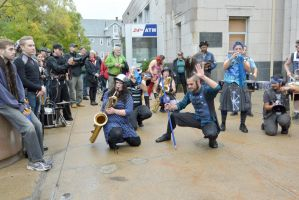 2014 Honk Festival, Chaotic Noise Boogie Down 4 by Miss-Tbones