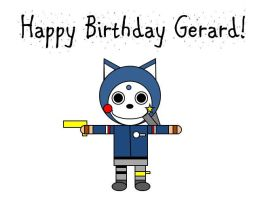 Happy Birthday Gerard! by ToxicSkeleton