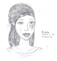 Sketch in 10 - Aristelle by DitzyDM