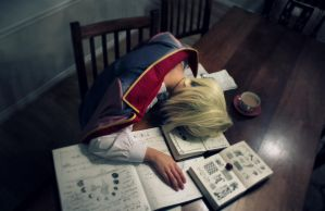 Worked too hard - Howl's Moving Castle by *TurnipMoon