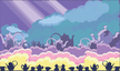 Crazy bunny_background for the mobile game