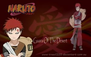 Gaara wallpaper by Trees1225