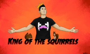 King Of The Squirrels by leonsmommy