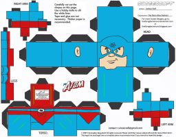 JLA 2: The Atom Cubee by TheFlyingDachshund