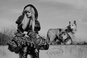 Wolf and girl 4 by KMKostumes