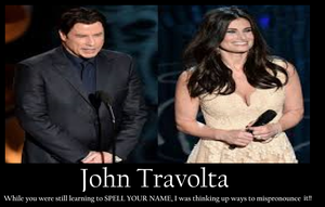 John Travolta motivational poster by RobRulz1231Studios