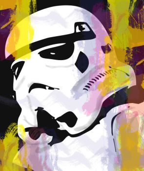 Funky Stormtrooper by oc-uk