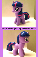 Filly Twilight by Nsomniotic