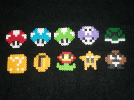 Mario Magnets by PracticallyGeeky