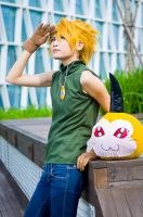Digimon Adventure - Yamato 02 by hana-bira