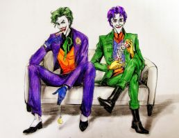 Joker and Jokester by lovejoker4ever
