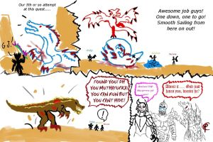 Our Luck.... MH Comic by Dragonsmana