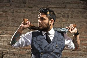 Sesion Steampunk/ Steampunk Photoshoot (3) by SteampunkChile
