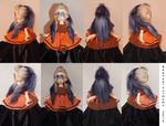 Commission-Ombre Alpaca Wig by BeanSproutMomo