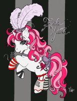 .emilie autumn pony-fied. by lolpancakes