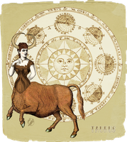 My Vintage Horoscope -Taurus- by DeerDandy