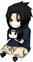 mini sasuke by malengil