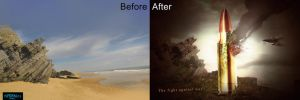 Before and After (The Fight Against War) by ShatteredGraphicss