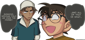 Detective Conan 780 colour by TeiSsoN