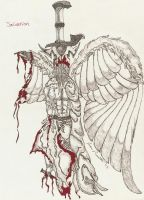 Salvation, The Fallen Angel by draggucci