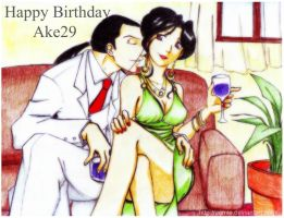 Happy Birthday Ake29 by uomie