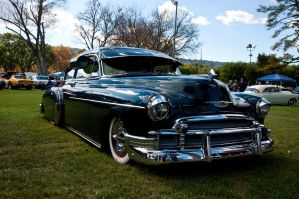 1950 Chevy Fleetline by SharkHarrington