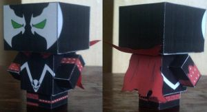 Spawn Cubee by paperart