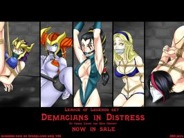 DEMACIANS IN DISTRESS LEAGUE OF LEGENDS DID SET by GreenLeona
