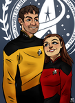 Trek Couple commission by Mainframe110