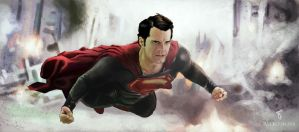 Man of steel by Rou-man