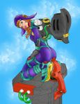 Jetpack girl by jcharnaux