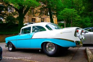 Baby Blue 56 Chevy 2910 by TommyPropest-Candler
