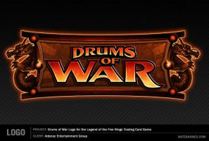 Drums of War Logo by natebarnes