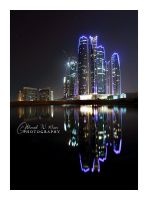 Etihad Towers - Abu Dhabi by ahmedwkhan