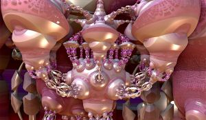pink styled bulb creation by Andrea1981G
