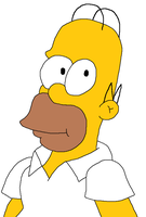 Homer Simpson by TheDarkBrawler90