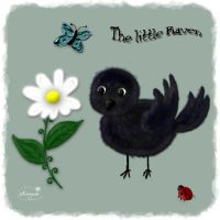 Little Raven- for my daugther by mininessie66