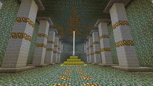 altar of the elements in minecraft - inside by Bar-Kun
