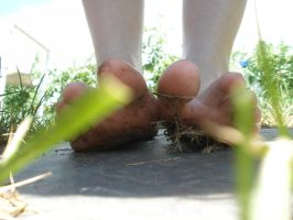 Dirty - Under Feet 1 Grass by Yes-Mistress--Please
