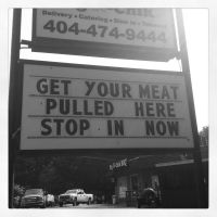 Get Your Meat Pulled by wiebkefesch