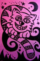 Cheshire Cat by Color-Cats
