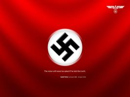 Nazi Party Flag by heshamfayez