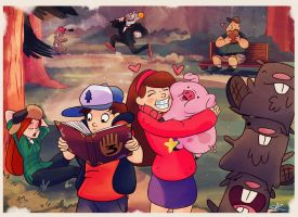Gravity Falls by demonic-black-cat