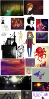 August Sketch/redditart dump 2014 by ChubbyCollections