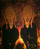 There is two ..burning by zah0ora
