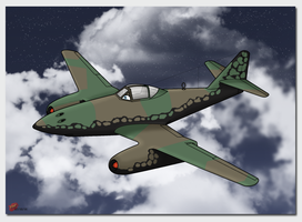 WS: Rogue: Frieda Me-262A-1A by TheAngryFishbed