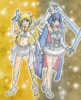 Panty and Stocking by CandySkitty