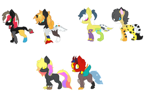 Baby Foal adoptaibles by Kyah-Pony-Adoptables